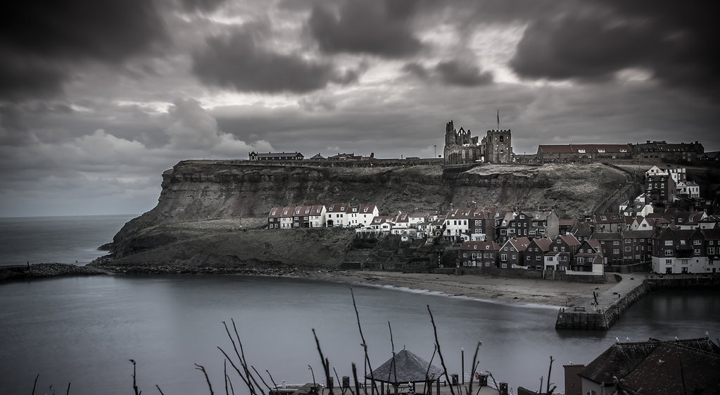 A Rainy Night in Whitby